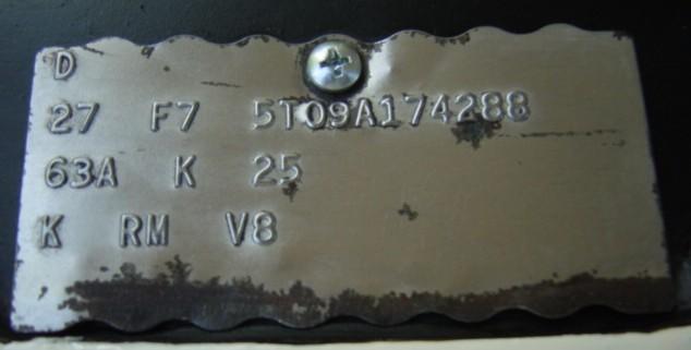 1965-66 Buck Tag information